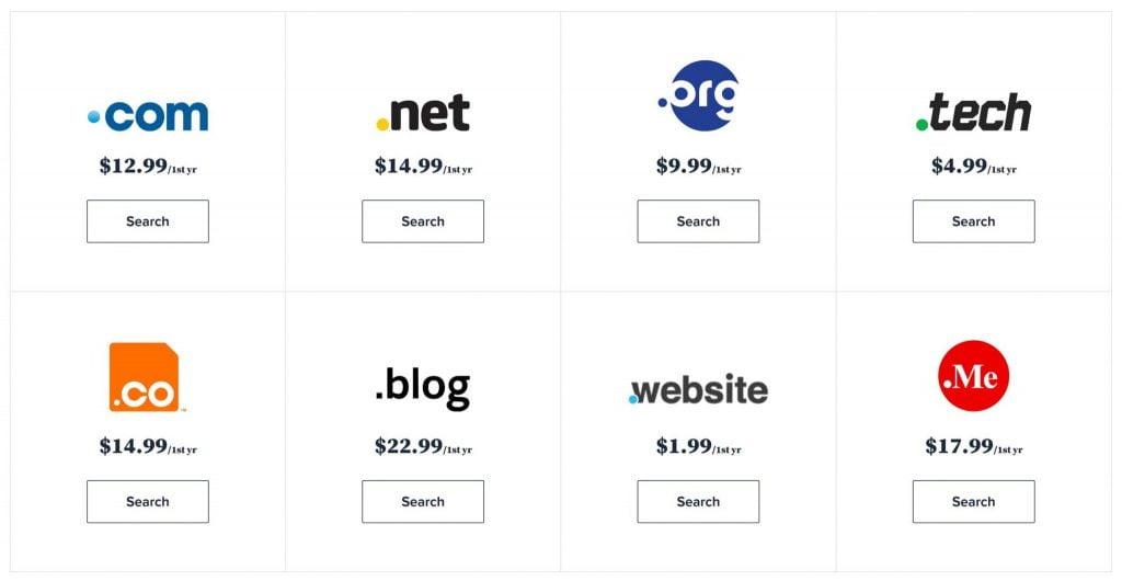 come registrare un dominio web