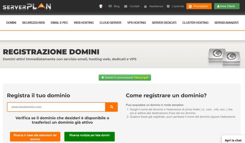 serverplan dominio