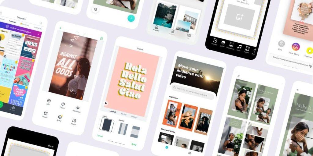 app per creare storie instagram