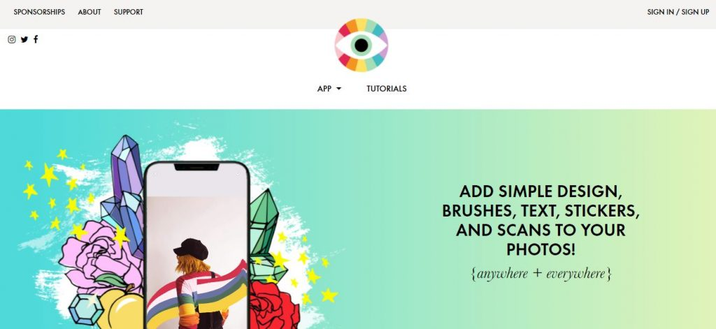 app per creare stories instagram design kit